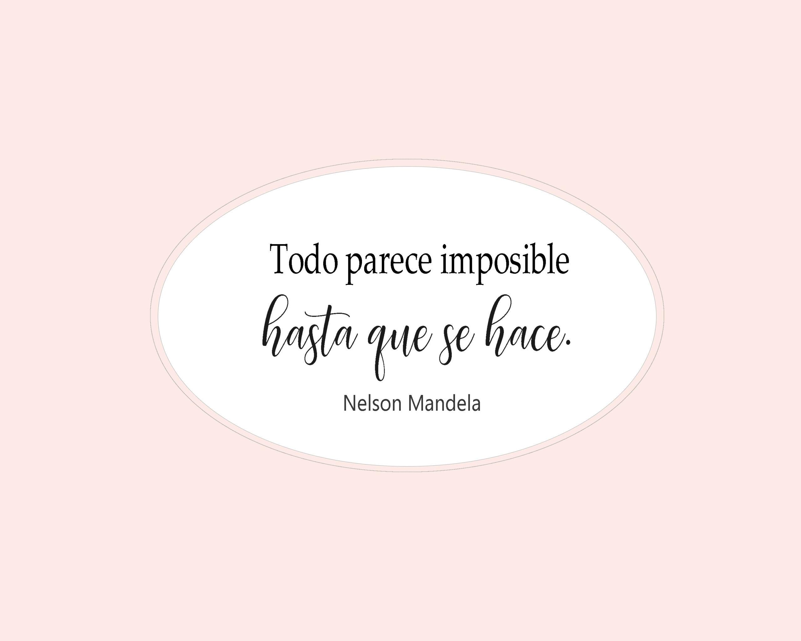 Todo Parece Imposible Hasta Que Se Hace Libro + My PDF ...
